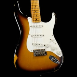 Fender Custom Shop '56 Stratocaster Reissue Relic 2-Color Sunburst 1999