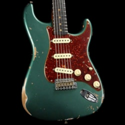 Fender Custom Shop '60 Stratocaster Roasted Alder Relic Sherwood Green