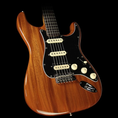 Fender Custom Shop '60s Roasted Mahogany Stratocaster HSS Electric Guitar Natural Natural, Brand New, $5,015.00