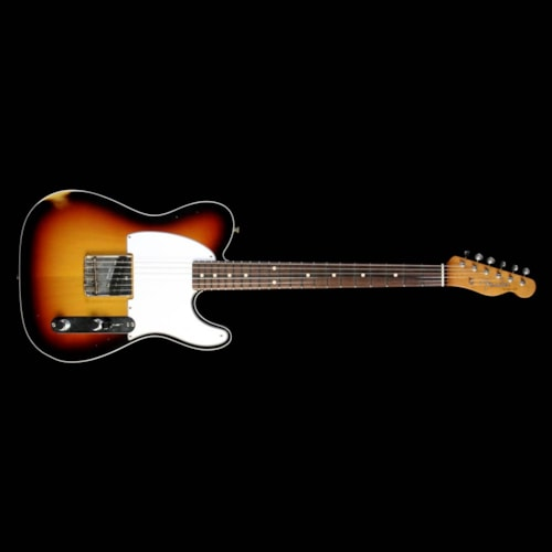 Fender Custom Shop '61 Esquire Custom Masterbuilt Brazilian Fingerboard 3-Tone Sunburst Brand New, $5,999.99