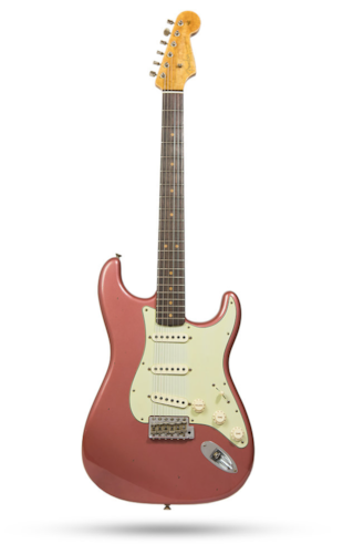 Fender Custom Shop '63 Stratocaster Journeyman Relic LTD NAMM Burgundy Mist Metallic, Brand New, Original Hard