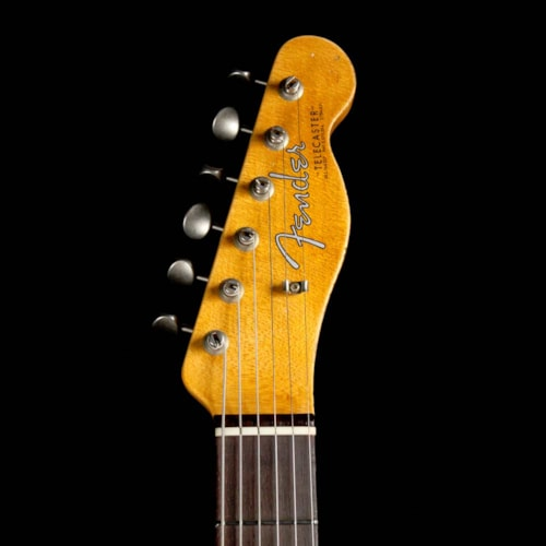 Fender Custom Shop '63 Telecaster Heavy Relic Super Faded Aged Nocaster Blonde Brand New, $4,150.00
