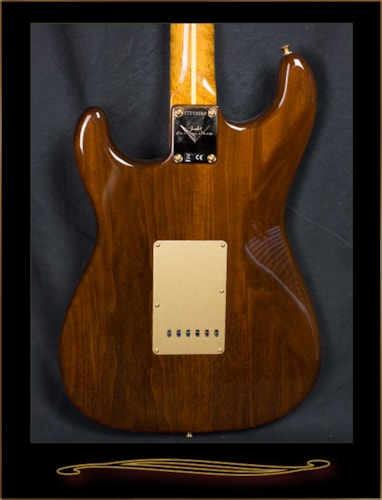 Fender® Custom Shop Artisan Claro Walnut Stratocaster® Natural, Brand New, Hard, $3,700.00