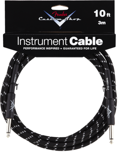Fender Custom Shop Cable Black, Brand New