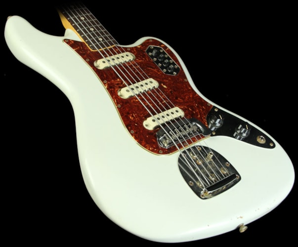 Fender Custom Shop Electric  Bass VI Relic Guitar w/ Rosewood Fretboard White Brand New, $3,999.99