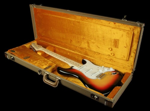 Fender Custom Shop Exclusive '60 NoNeck Stratocaster NOS Electric Guitar 3TS 3-Tone Sunburst, Excellent, $2,299.00