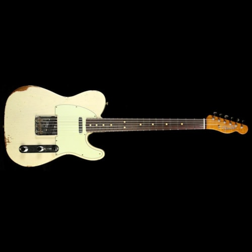 Fender Custom Shop Fender Custom 60s Roasted Ash Telecaster Relic Vintage Blonde
