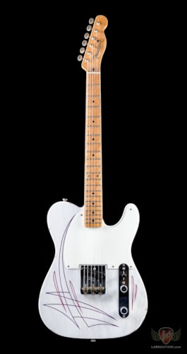 Fender Custom Shop Limited Edition Pinstriped Esquire  White Blonde, Brand New, Hard
