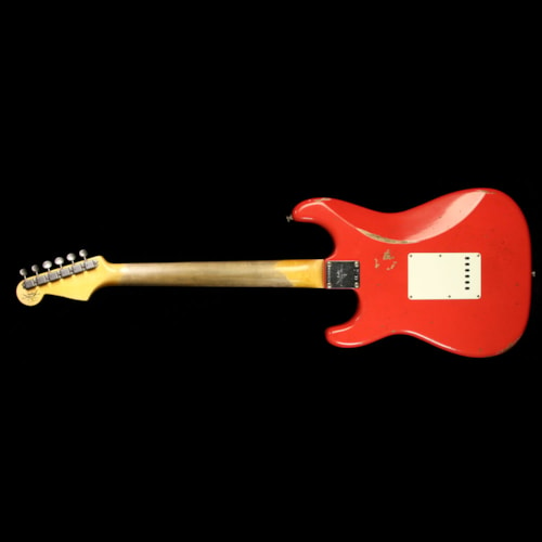 Fender Custom Shop Limited Edition Thin Skin Stratocaster Relic Electric Guitar Faded Fiesta Red Brand New, $4,250.00