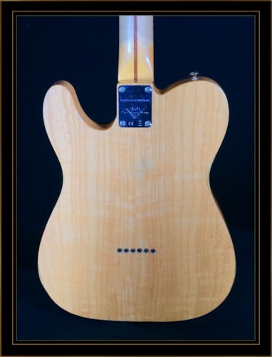 Fender Custom Shop LTD Blackguard Thinline Tele in Aged Natural