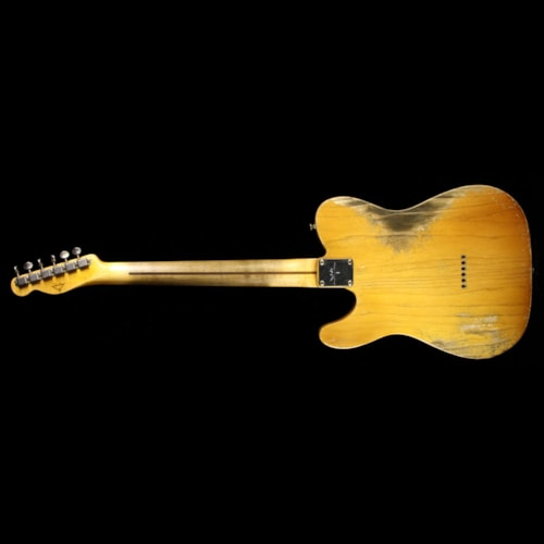 Fender Custom Shop Masterbuilt Dale Wilson '55 Blackguard Esquire Relic Electric Guitar Smoked Butterscotch Blonde Smoked Butterscotch Blonde, Excellent, $6,299.00