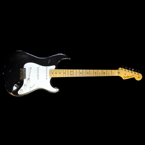 Fender Custom Shop Masterbuilt Todd Krause '56 Active Stratocaster Relic Electric Guitar Midnight Blue Brand New, $7,120.00