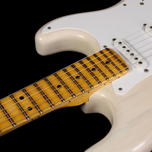 Fender Custom Shop Masterbuilt Todd Krause Eric Clapton Stratocaster Journeyman Relic Electric Guitar Aged White Blonde Brand New, $7,600.00