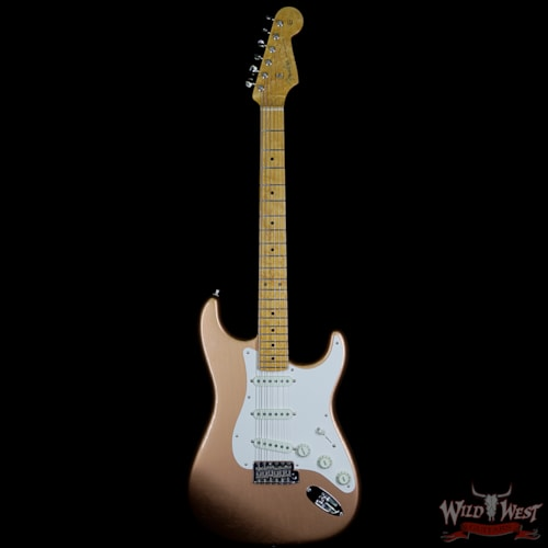 Fender Custom Shop Postmodern Stratocaster Lush Closet Classic Birdseye Maple Neck Faded Copper Faded Copper, Near Mint