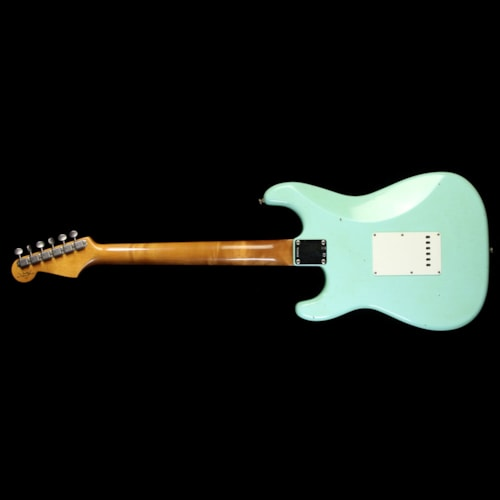 Fender Custom Shop Roasted Alder '62 Stratocaster Relic Electric Guitar Seafoam Green Brand New, $3,600.00