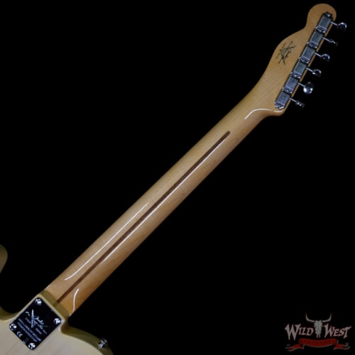 2020 Fender Custom Shop 70th Anniversary Broadcaster Hand-Wound Pickups NOS Nocaster Blonde