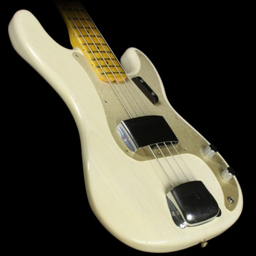Fender Custom Shop Used 2015 Fender Custom Shop 2016 Limited Edition '57 Precision Bass Journeyman Relic Electric Bass White Blonde White Blonde, Excellent, $2,199.00