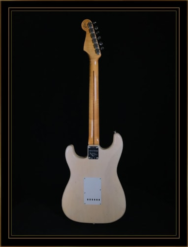 Fender Custom Shop Vintage Custom Relic 1955 Strat in Aged White Blonde