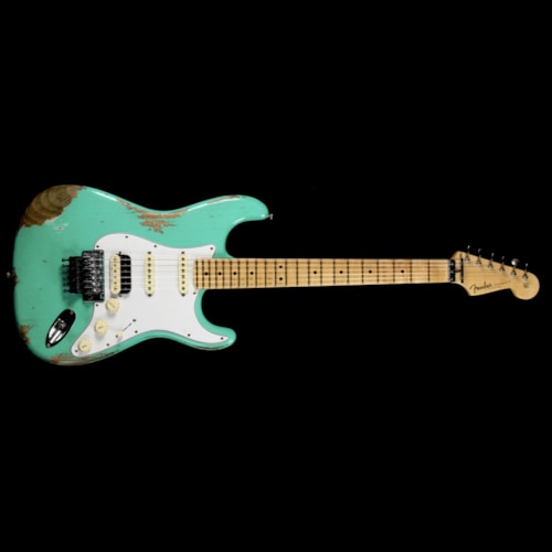 Fender Custom Shop ZF Stratocaster Music Zoo Exclusive Heavy Relic Seafoam Green Brand New, $3,999.99