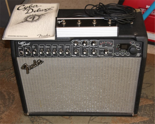 Fender Cyber-Deluxe Guitar Amplifier, Pro Sounds, w/ Footswitch Cyber Deluxe