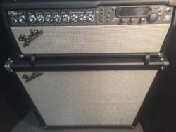 Fender Cyber Twin Head with Showman 412S Stereo Cabinet