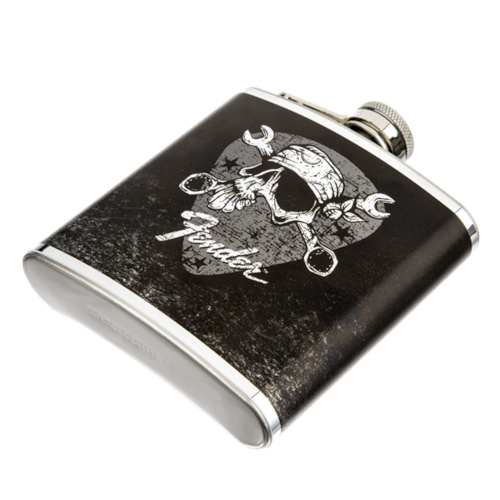 Fender David Lozeau Mechanic Flask Black, Brand New, $19.99
