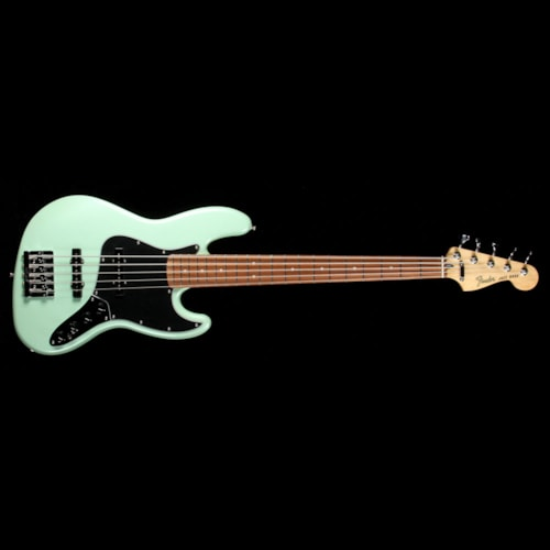 Fender Deluxe Active Jazz Bass V Surf Pearl