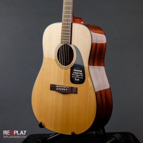 Fender DG-8S Acoustic Guitar Pack (Natural) Brand New, $199.99