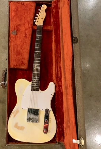 Fender Esquire 1963 Olympic White