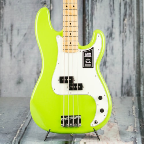 Fender FSR Limited Edition Player Precision Bass, Electron Green