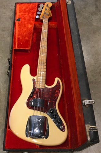 Fender Jazz Bass 1974 Olympic White