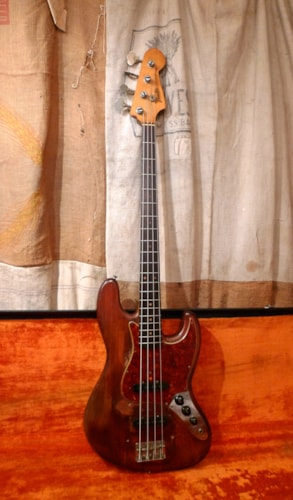 1964 Fender Jazz Bass Natural - Refin