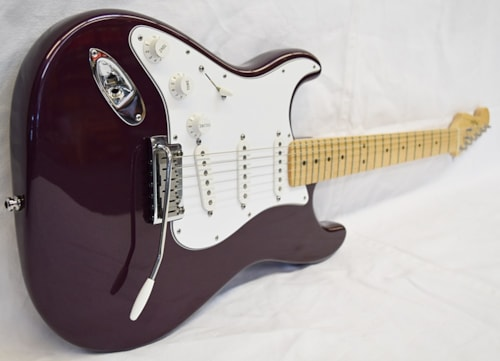 Fender Left-handed American Standard Strat Purple Metallic