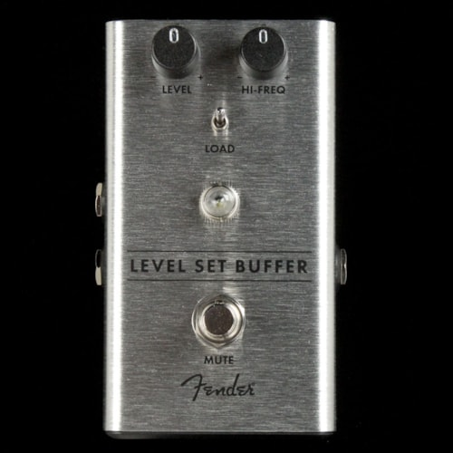 Fender Level Set Buffer Effects Pedal Brand New
