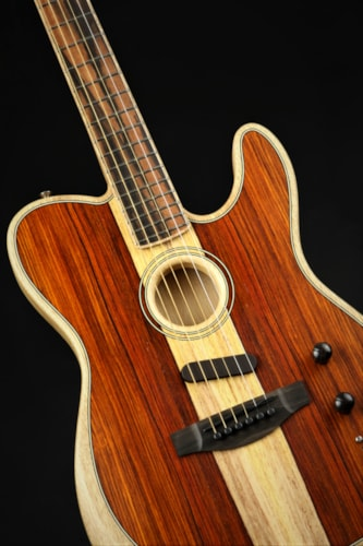 Fender Limited Edition American Acoustasonic Telecaster Exotic Cocobolo