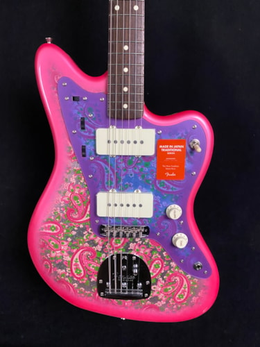 Fender Made In Japan Traditional Jazzmaster Pink Paisley