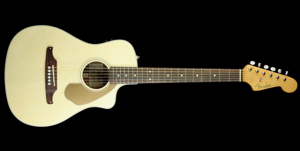 Fender Malibu CE Acoustic Electric Guitar Natural Brand New, $279.99