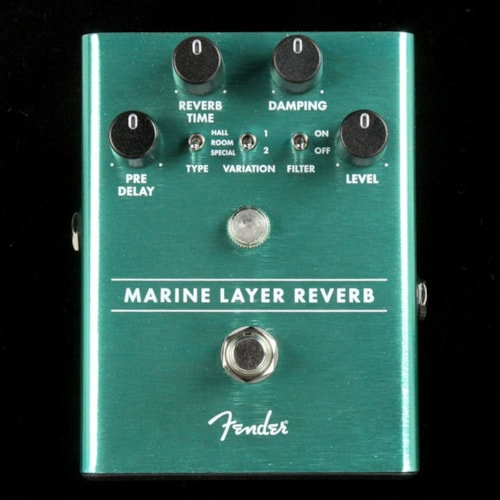 Fender Marine Layer Reverb Effects Pedal Brand New