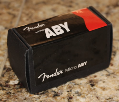 New Old Stock Fender Micro ABY footswitch - with full factory warranty