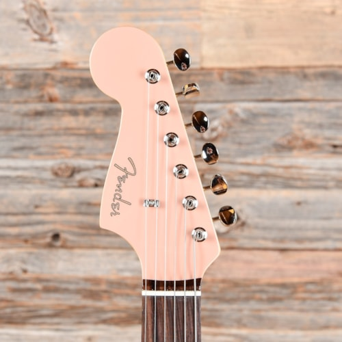 Fender MIJ Traditional 60s Jazzmaster Flamingo Pink LEFTY w/Matching Headcap (CME Exclusive) USED
