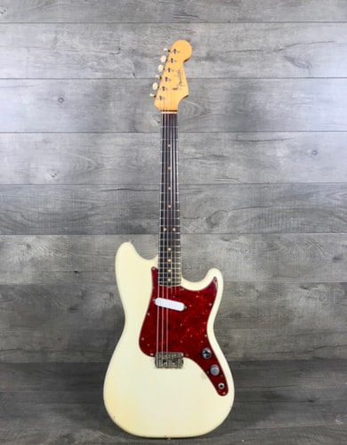 Fender Musicmaster 1964 Olympic White