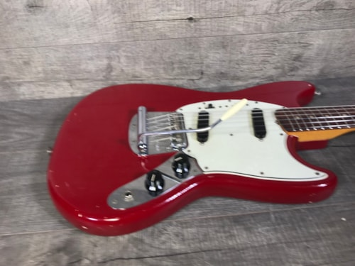 Fender Mustang 1966 Dakota Red