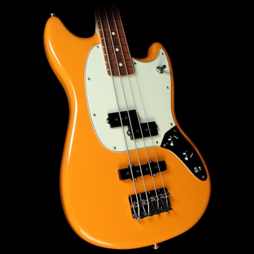 Fender Mustang Bass PJ Electric Bass Capri Orange Brand New, $574.99