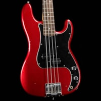 Fender Nate Mendel Precision Bass Road Worn Candy Apple Red 2017