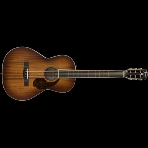 Fender Paramount PM-2E Parlor Limited Antique Cognac Burst Brand New $799.99