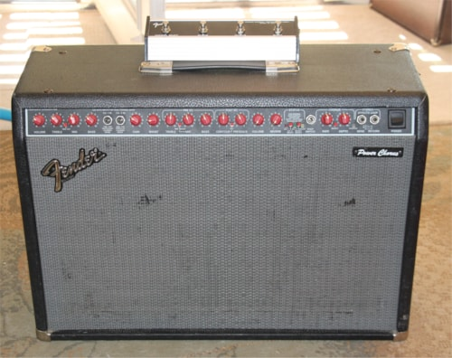 "Fender Power Chorus ""Red Knob"" Guitar Amplifier - Stereo - Made In United States"
