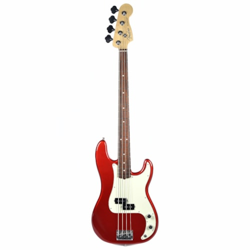 Fender American Pro Precision Bass Candy Apple Red