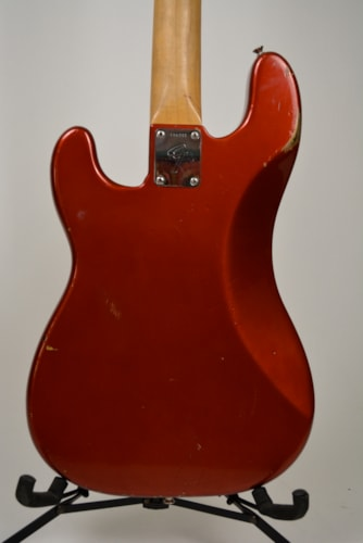 1967 FENDER Precision Bass Candy Apple Red