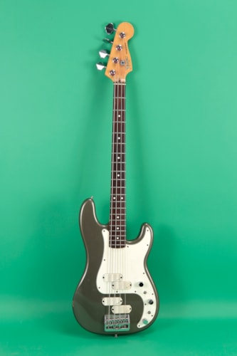 Fender Precision Bass Elite II Pewter, Very Good, Hard