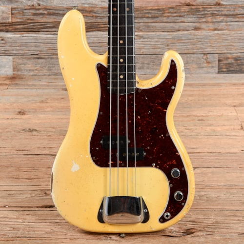 Fender Precision Bass Olympic White 1965